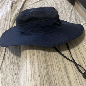 Outfly navy blue bucket hat